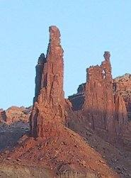 Cropped image of Monster Tower and Washer Woman