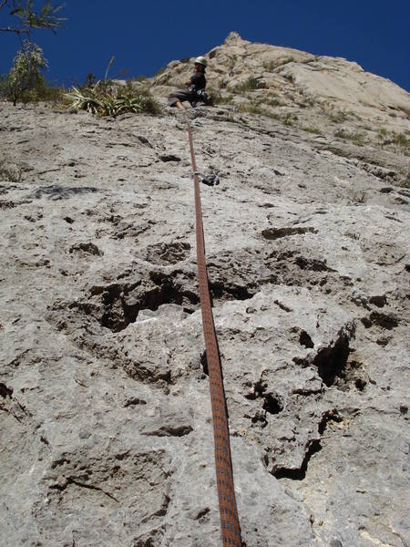 Kelly cranking on pitch 5 of Yankee Clipper.
