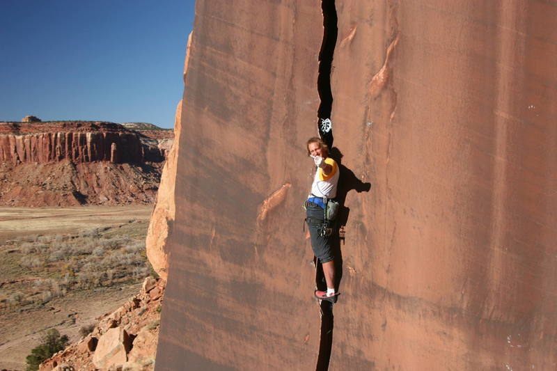 A cameraman HATES to be caught without a camera... Photographer Andrew Burr with a comment on what it's like to be on the wrong side of the lens. (IC/Way Rambo Wall/The Serrator 5.11OW