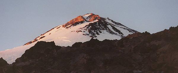 Mt. Shasta North Face.<br> Photo by Blitzo.