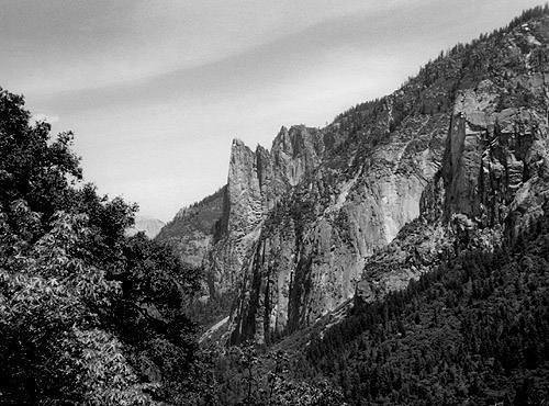 Sentinel Rock West Face.<br> Photo by Blitzo.