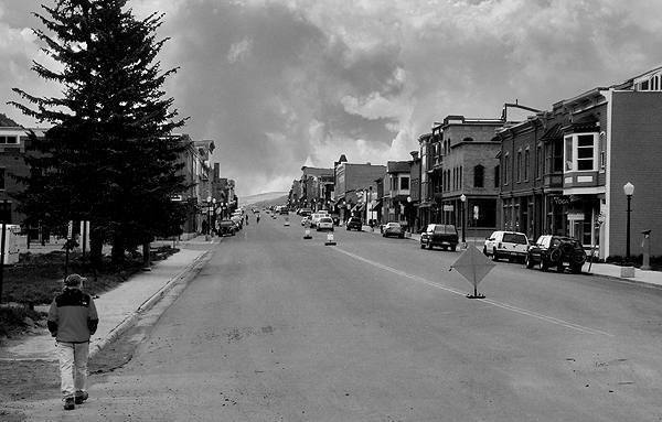 Telluride in May, the slow season.<br> Photo by Blitzo.