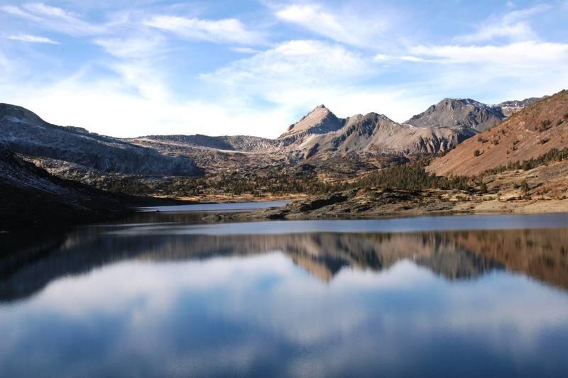 Saddleback Lake, Tioga Pass.