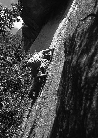 """Turning Point"", Yosemite Valley, 1978.<br> Photo by Blitzo.<br>"