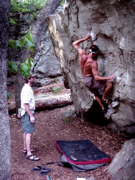 Meteor boulder I think.  Very fun problem.