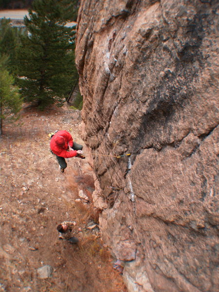 Flubbing the low crux