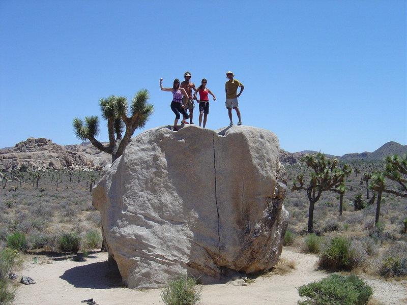 Friends, Joshua Tree 2005