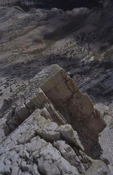 West ridge on Mt Conness