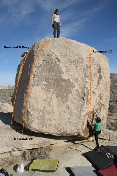 Maverick Boulder Topo
