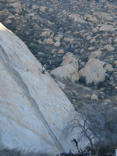 First pitch of Africa Flake in the late afternoon.<br> <br> photo by Lara Dvorzak
