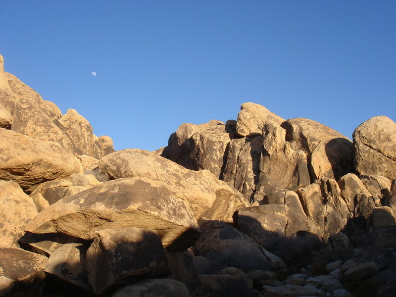 the Brown Corridor, from the boulder field.