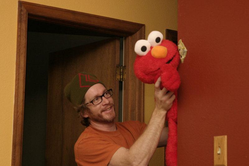 Elmo needed a spot