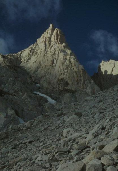 The spectacular Bear Creek Spire
