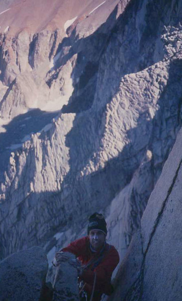 Eric Collins on 3rd Pillar, circa 1986
