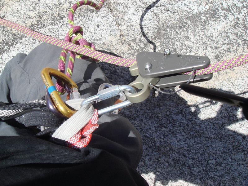 Solo TR setup using a Rescuecender.