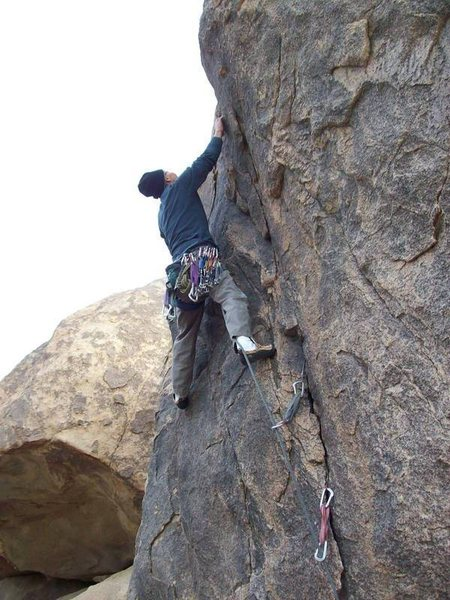 Soo, on the 10a Short Crack