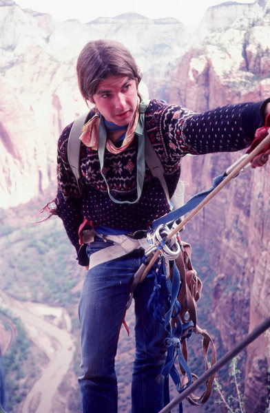 Ron Kaulk in Zion ABC Wide World of Sports shoot.<br> photo Olaf Mitchell