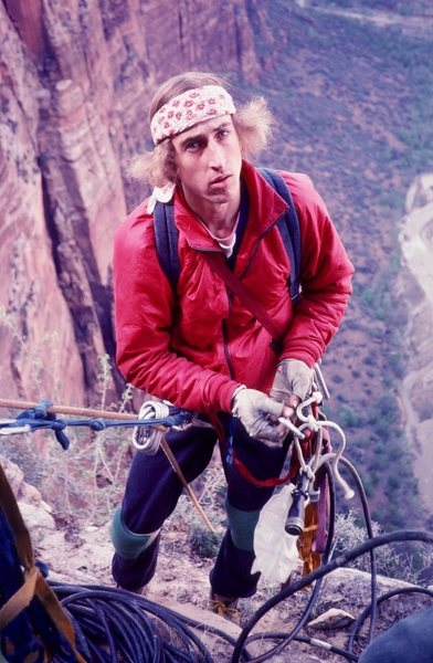 Dale Bard in Zion photo Olaf Mitchell