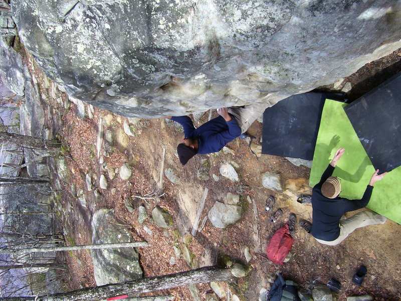Bouldering in HP 40<br>