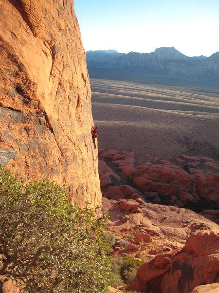 Dusk on Plastic People, Red Rocks