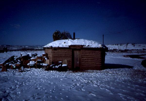 Home sweet home.  Lukachukai, Ariz.  photo;  Todd Gordon