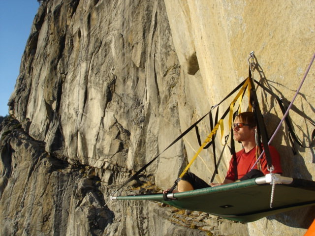 Saved the best bivy for last...Round Table Ledge. Freerider, Yosemite.