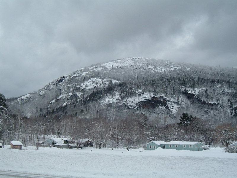 Rumney in Winter