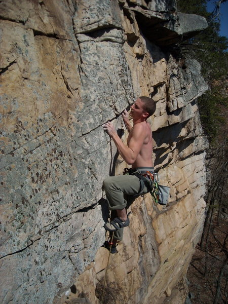 T.W. on DEAD RECKONING, 5.10a
