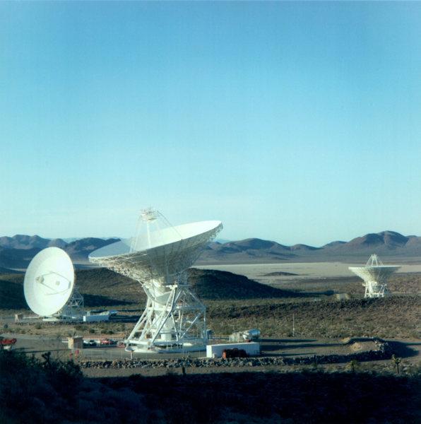 Apollo Valley - 3x 34m Beam Wave Guide antennas.