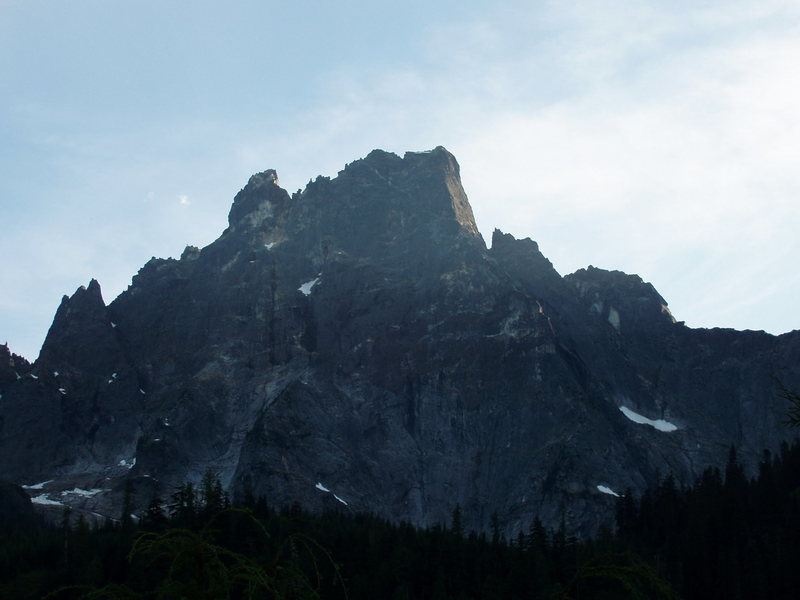 The Northeast Buttress of Mt. Slesse