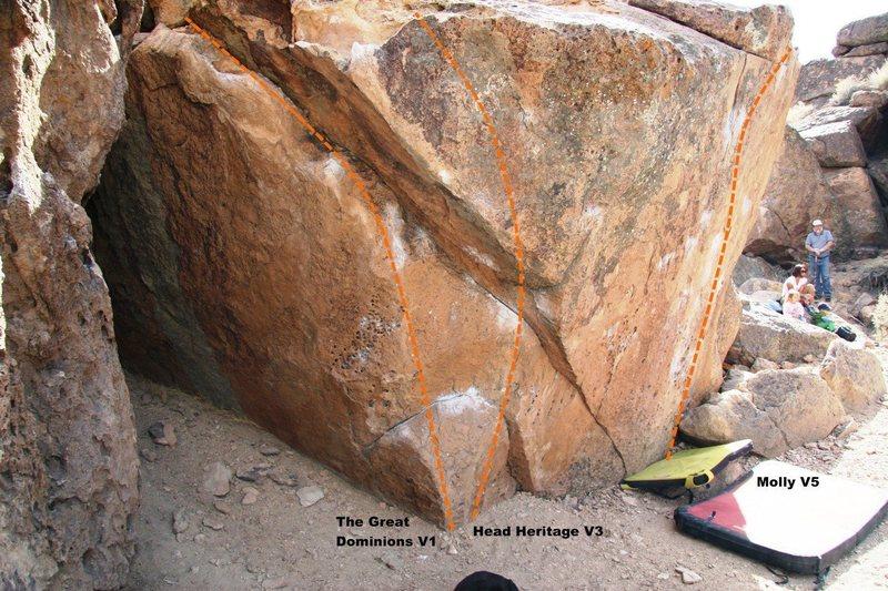 Molly Boulder North Face Topo