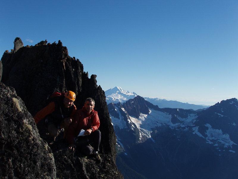 Chaz and John at the summit.