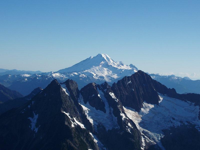 Washington State.<br> Name that mountain....