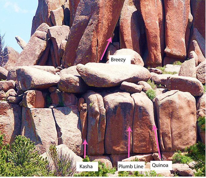 Plumb Line Crag, Left Side