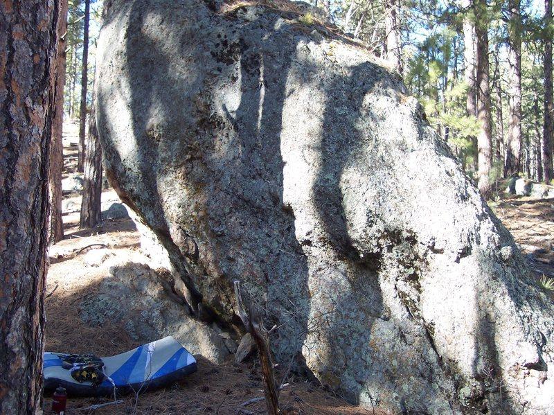 Hangar 18 boulder
