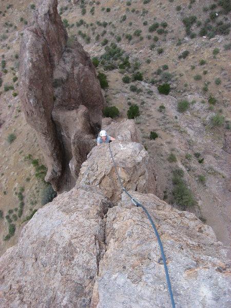 Looking down the Razor's Edge on The Hand, Sup's, AZ