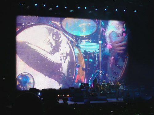 Led Zeppelin John Bonham's Son Jason on drums O2 Arena London