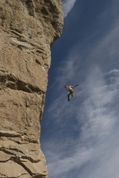 Ahhhh, not this time! Going for the whipper on David (1st pitch of Goliath).<br> <br> Photo by [[105824164]].