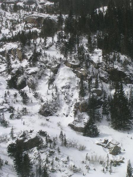 Ice near AMU.