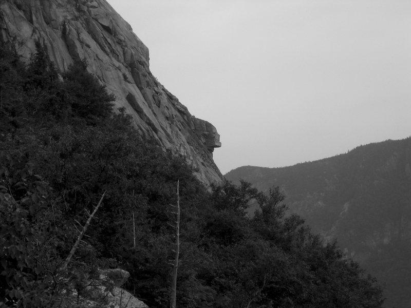 "The ""new"" man on the mountain... Cromagnum Man? (Photo: Brian Aitken)"