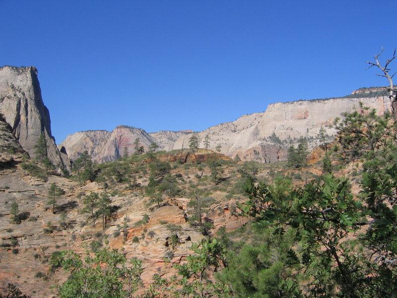 East Rim Trail view.