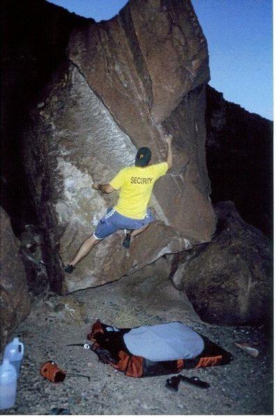 bouldering in vegas