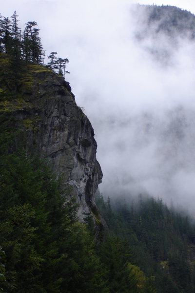 Clearing storm, Newhalem