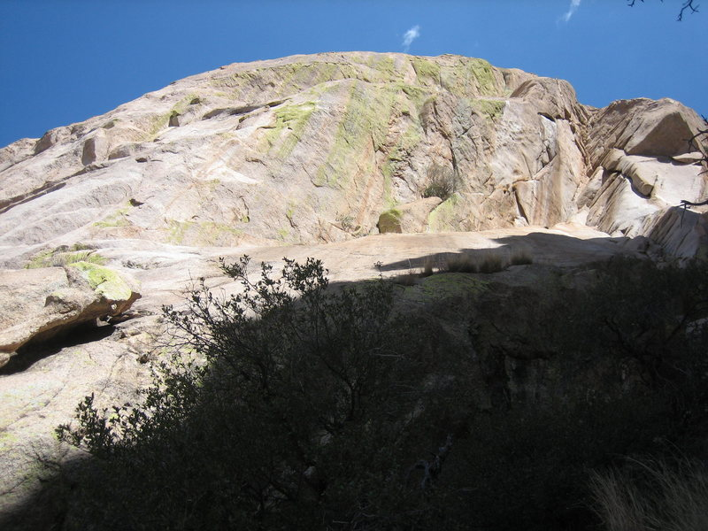 Photo taken from the bottom of pitch 1