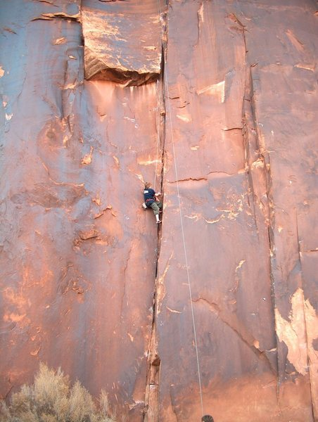 young climber from fort collins