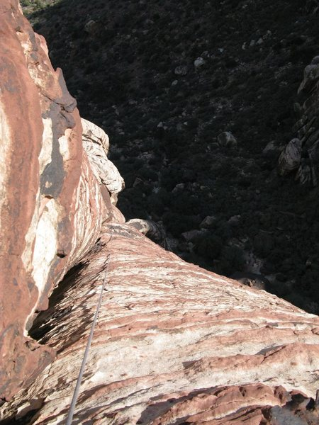 Looking down on pitch 3