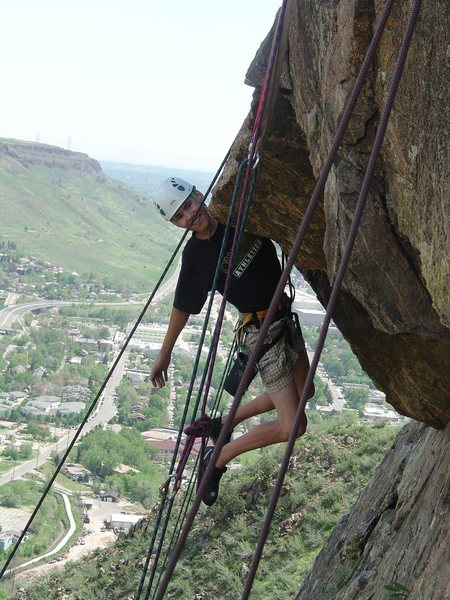 On the crux overhang