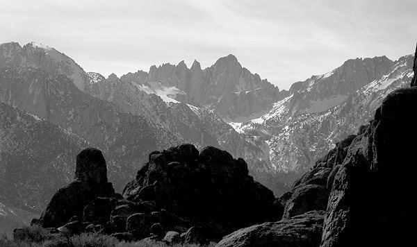 Mt. Whitney.<br> Photo by Blitzo.