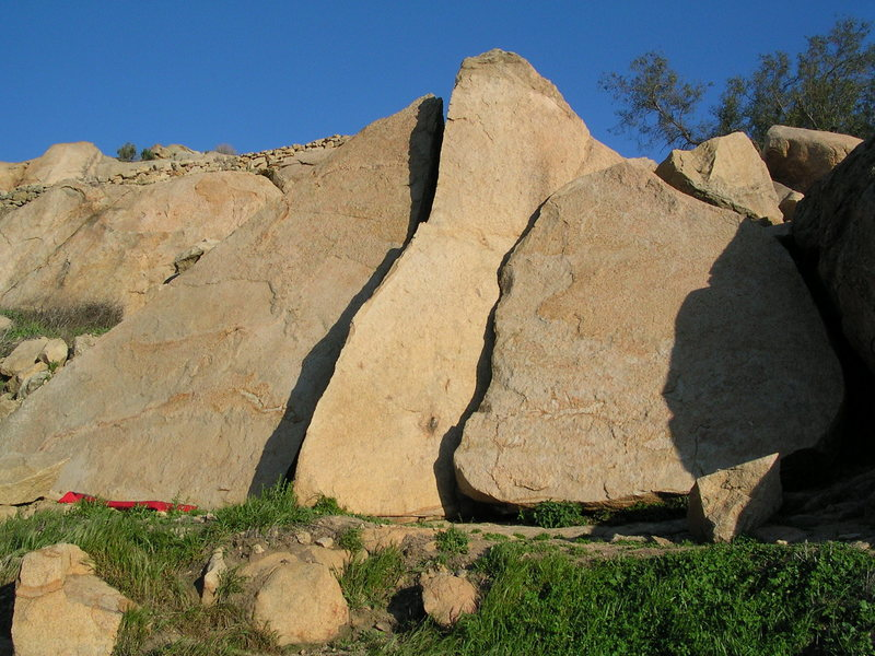 """The """"Triangle Boulders"""""""