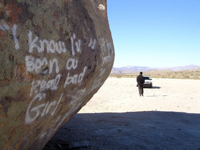 Yes, you have.<br> <br> At Giant Rock.